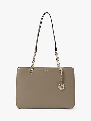 38a2cf18737 DKNY Bryant Leather Shopper Tote Bag
