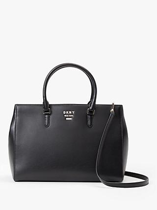 DKNY Whitney Leather Work Tote Bag