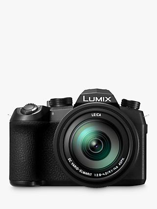 "Panasonic Lumix DC-FZ1000 II Bridge Camera, 4K Ultra HD, 20.1MP, 16x Optical Zoom, Wi-Fi, Bluetooth, OLED Viewfinder, 3"" Touch Screen"