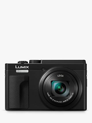 "Panasonic Lumix DC-TZ95 Super Zoom Digital Camera, 4K Ultra HD, 20.3MP, 30x Optical Zoom, Wi-Fi, Bluetooth, EVF, 3"" LCD Tiltable Touch Screen"