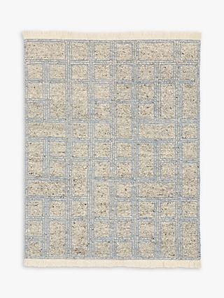 west elm Stacked Squares Rug, L244 x W152 cm
