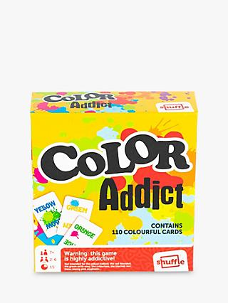Shuffle Colour Addict Card Game