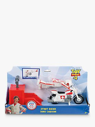 Disney Pixar Toy Story 4 Stunt Racer Duke Caboom Action Figure