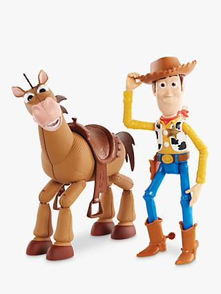 Disney Pixar Toy Story 4 Woody & Bullseye Adventure Pack