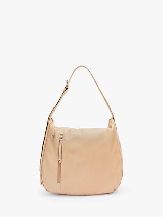 9244259a6d6d8 Mint Velvet Phoebe Side Zip Leather Shoulder Bag