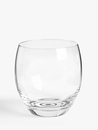 John Lewis & Partners Gin Glass Tumblers, Set of 4, 350ml, Clear