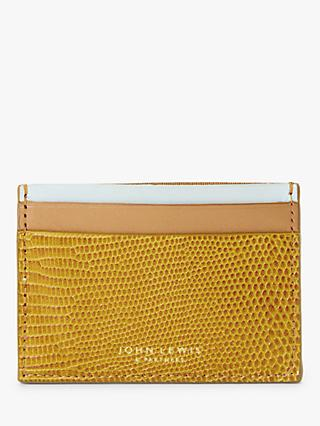 John Lewis & Partners Imelda Double Sided Leather Card Holder