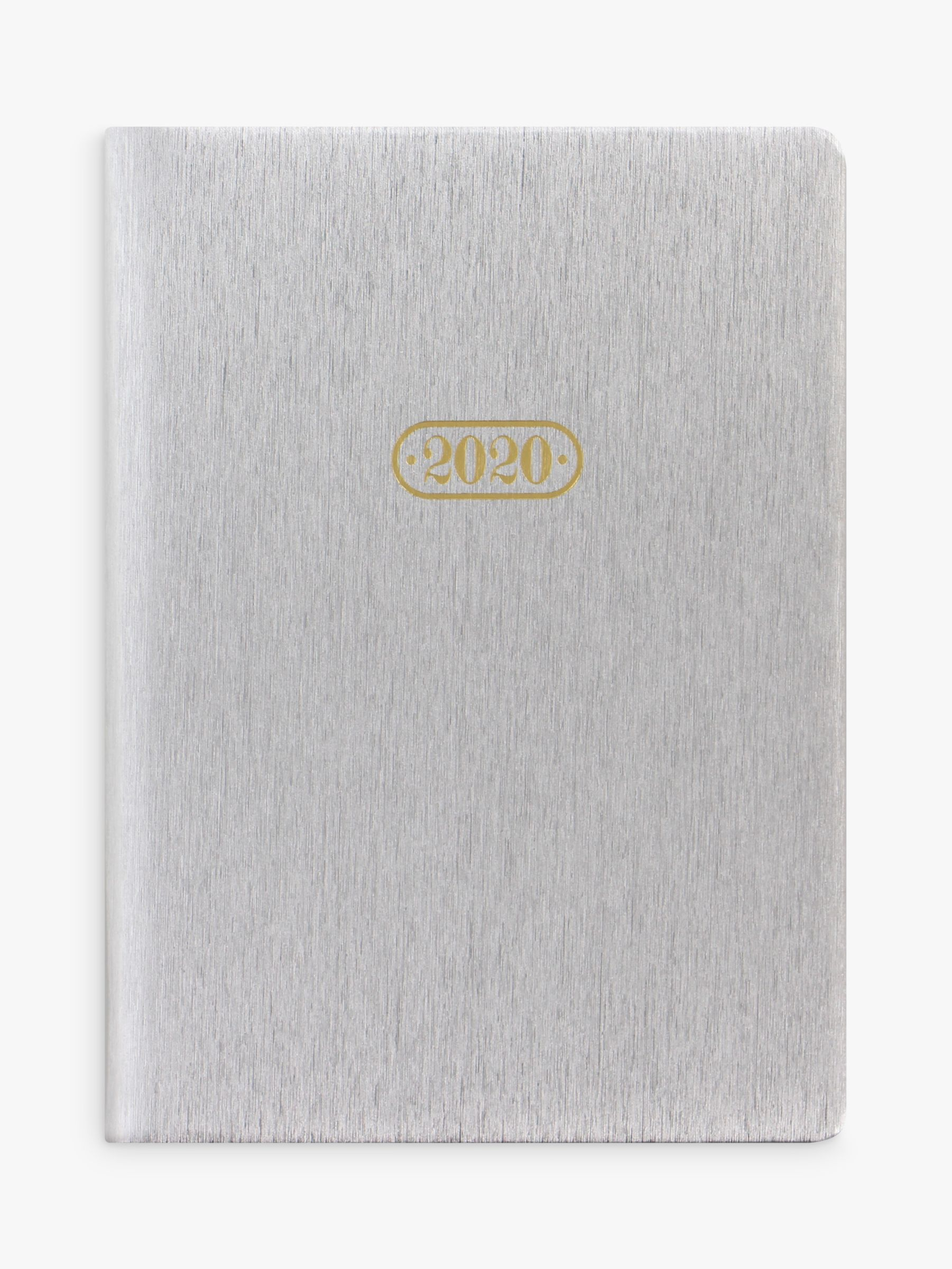 Letts Letts Sparkle A6 Diary 2020, Silver