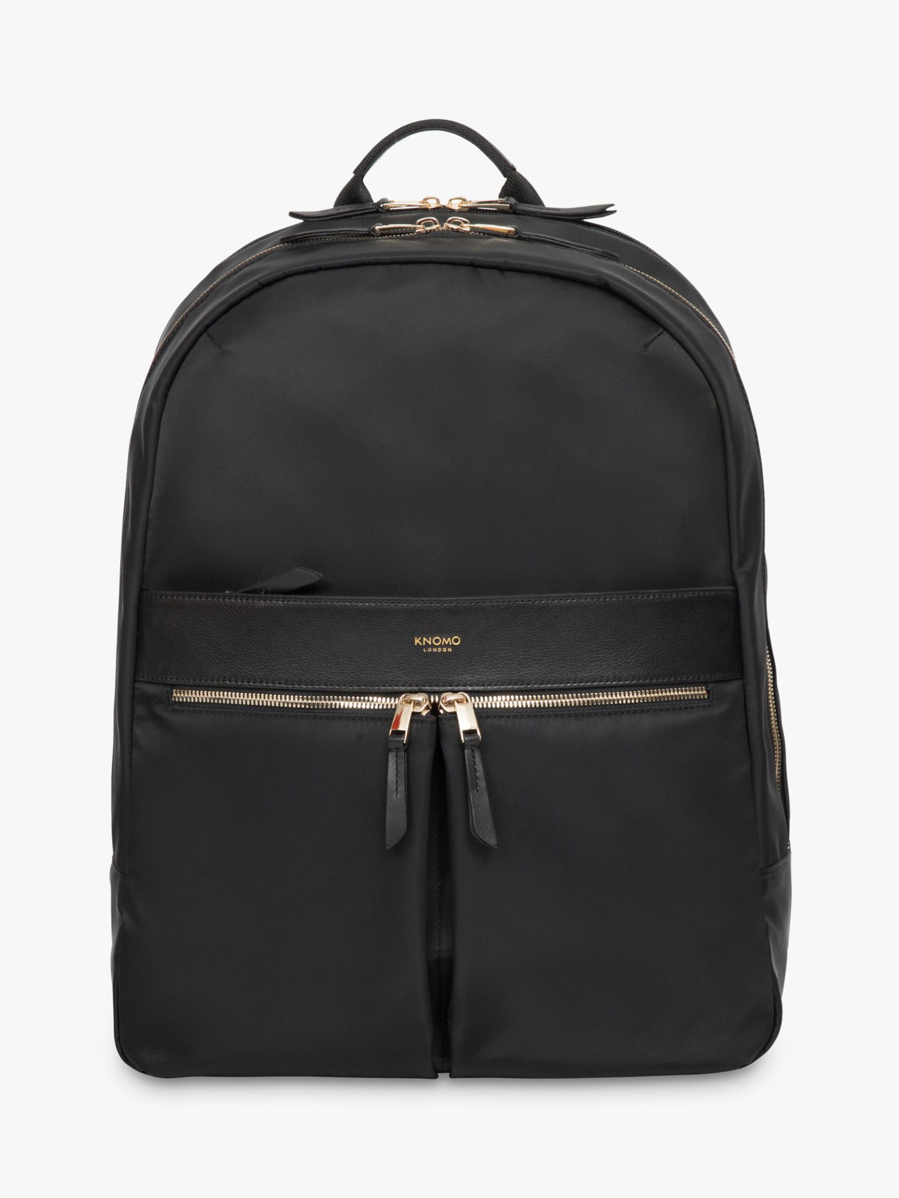 Knomo KNOMO Beauchamp Backpack for 15.6 Laptops, Black