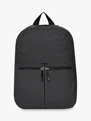"KNOMO Berlin Backpack for 15"" Laptops, Black Reflective"