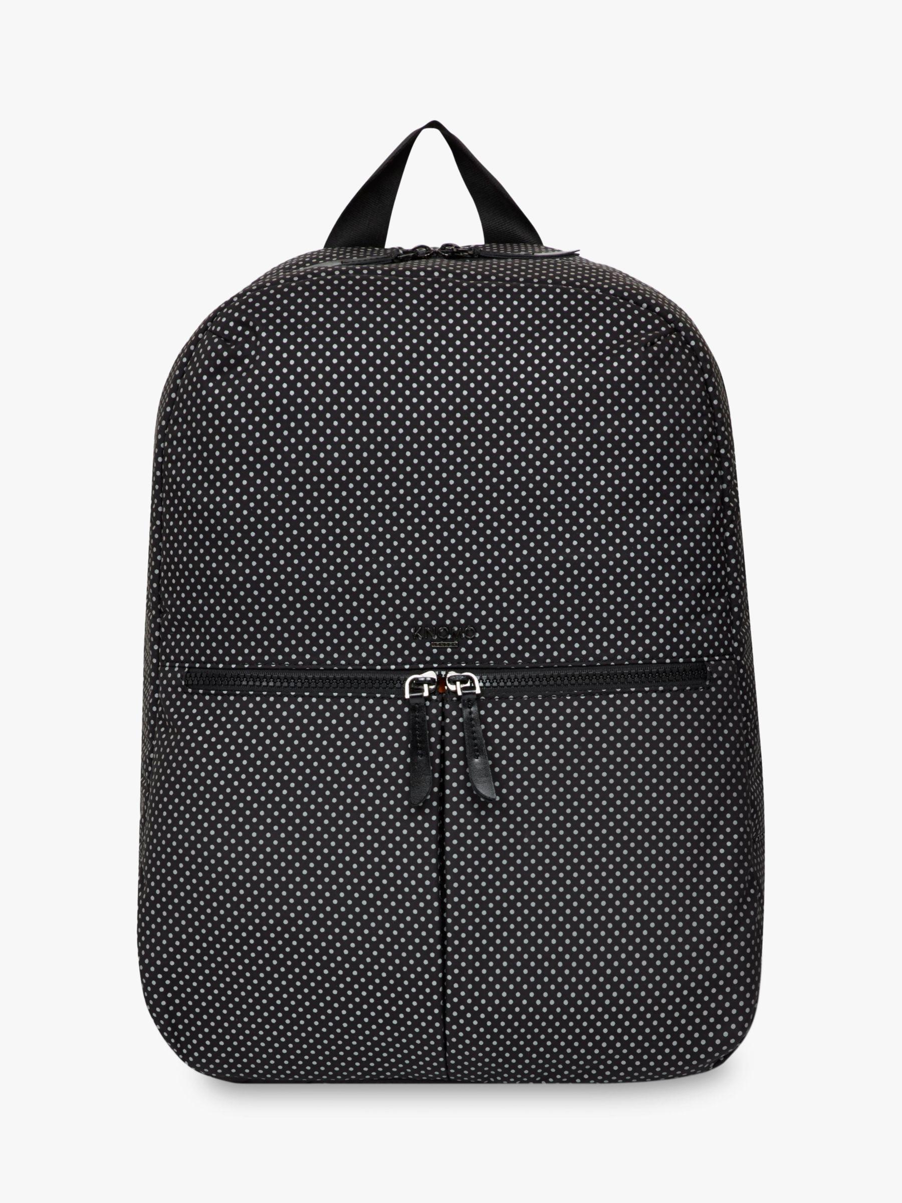 Knomo KNOMO Berlin Backpack for 15 Laptops, Black Reflective