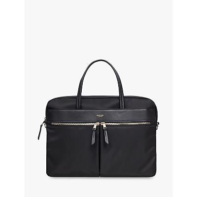 "Image of KNOMO Hanover 14"" Laptop Briefcase, Black"