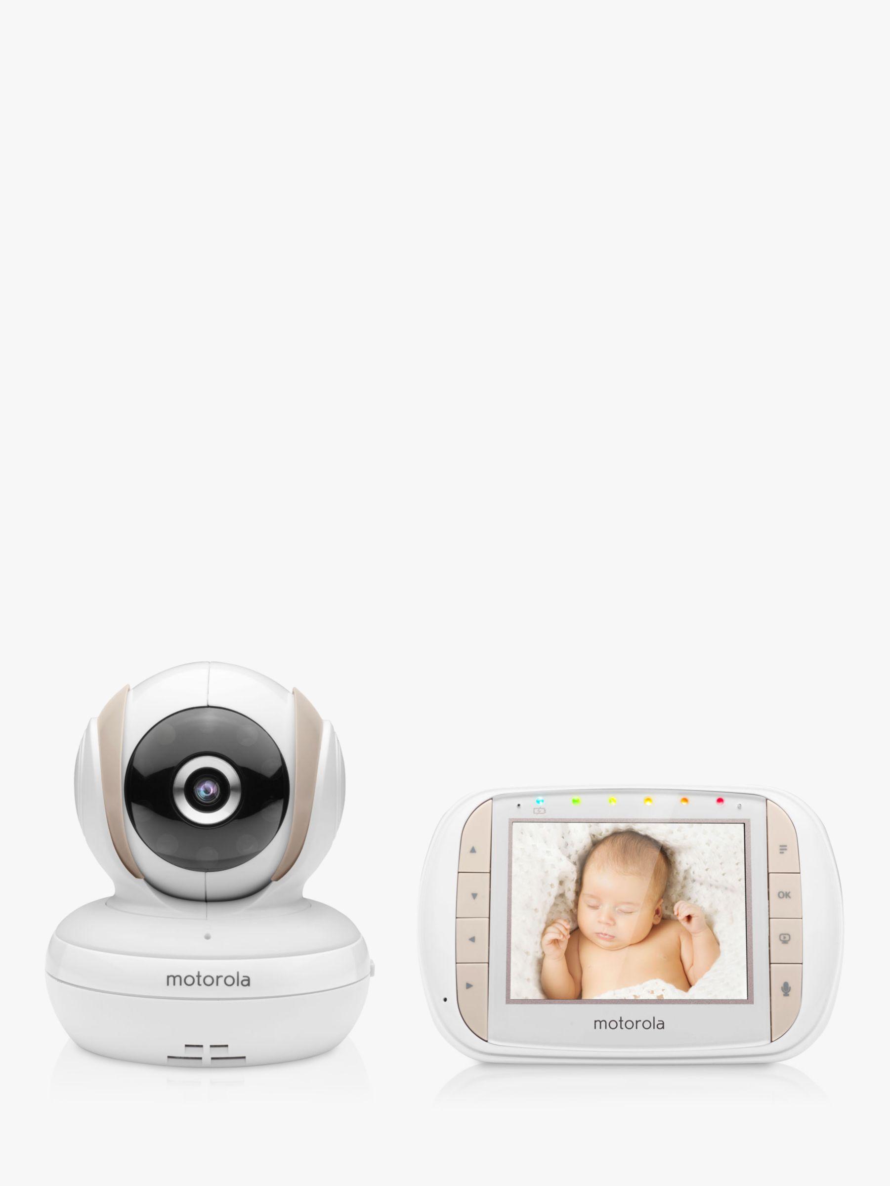 Motorola Motorola MBP35XLC Digital Audio and Video Baby Monitor, White