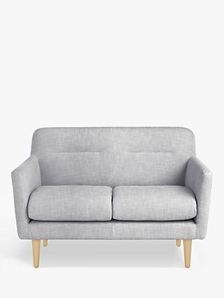 Archie II Range, House by John Lewis Archie II Small 2 Seater Sofa, Light Leg