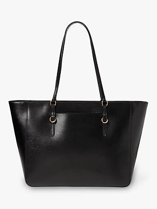 db8f1581707 Ralph Lauren Chadwick Leather Tote Bag