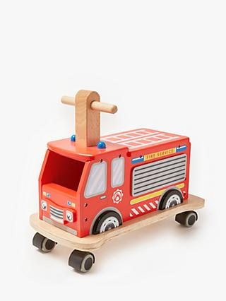 John Lewis & Partners Ride On Fire Engine