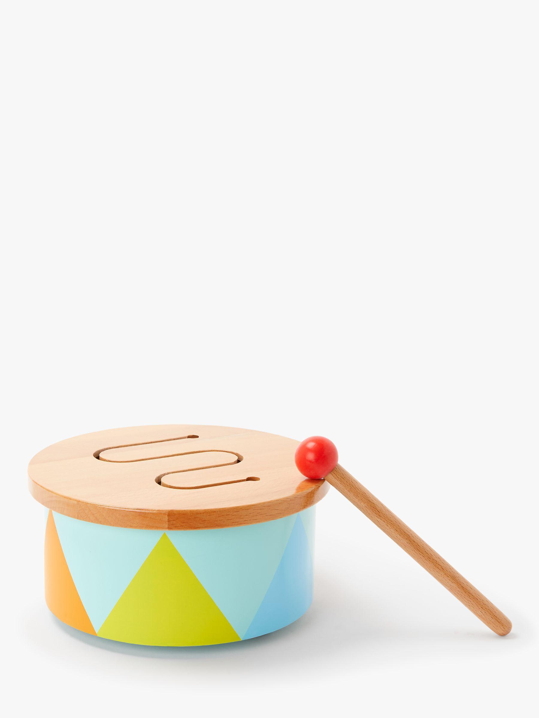 John Lewis & Partners Wooden Drum