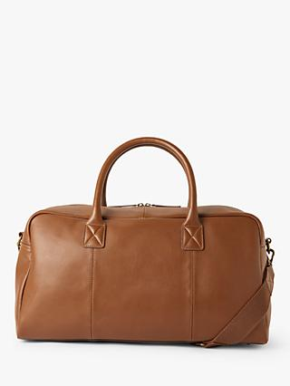 John Lewis & Partners Turin Leather Holdall