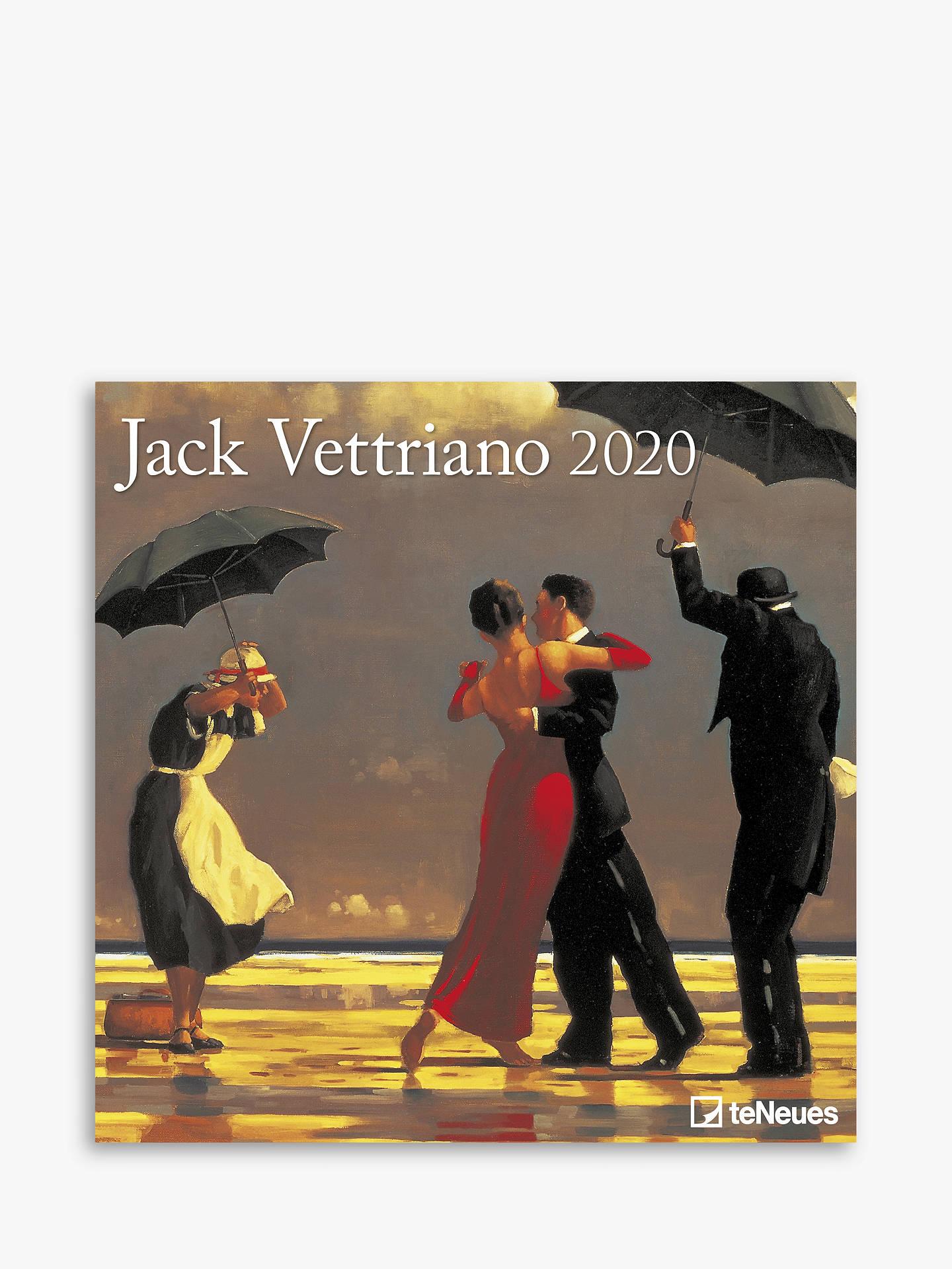 Calendrier Running 2020.Teneues Jack Vettriano Square Calendar 2020