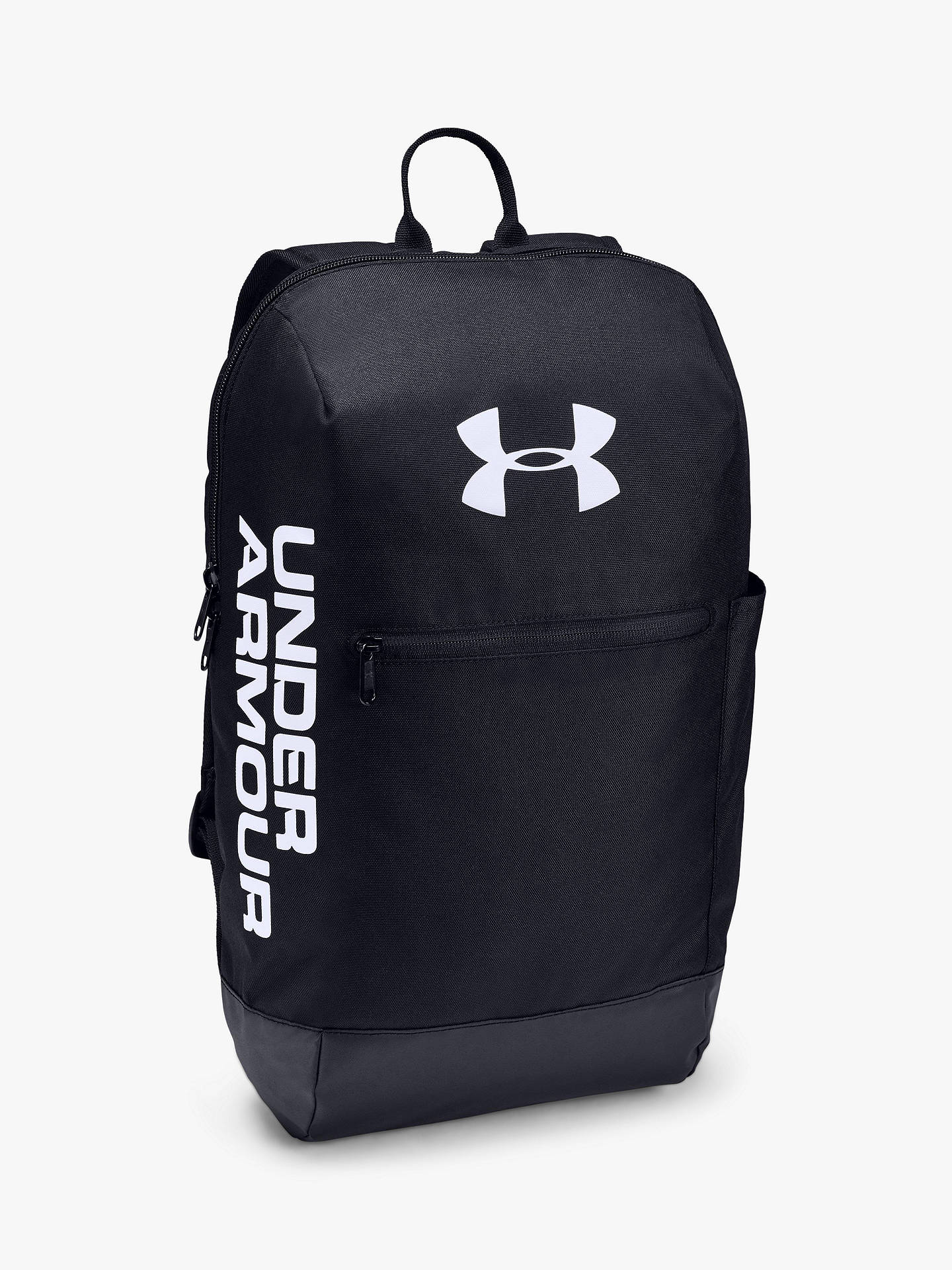 3b73c09159 Under Armour Patterson Backpack, Black/White