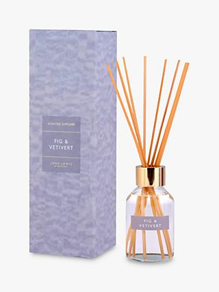 John Lewis & Partners Fig & Vetivert Reed Diffuser, 100ml