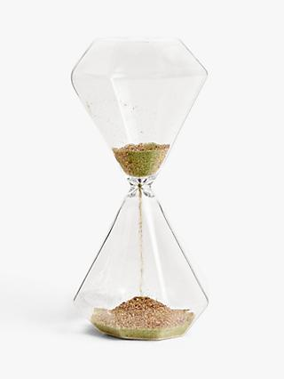 John Lewis & Partners Irridescent Sand Timer Hourglass