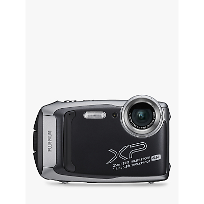 Fujifilm XP140 Waterproof, Freezeproof, Shockproof, Dustproof Digital Compact Camera with 5-25mm OIS Lens, 4K Ultra HD, 16.4MP, 5x Optical Zoom, Wi-Fi, Bluetooth, 3 LCD Screen