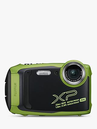 "Fujifilm XP140 Waterproof, Freezeproof, Shockproof, Dustproof Digital Compact Camera with 5-25mm OIS Lens, 4K Ultra HD, 16.4MP, 5x Optical Zoom, Wi-Fi, Bluetooth, 3"" LCD Screen"