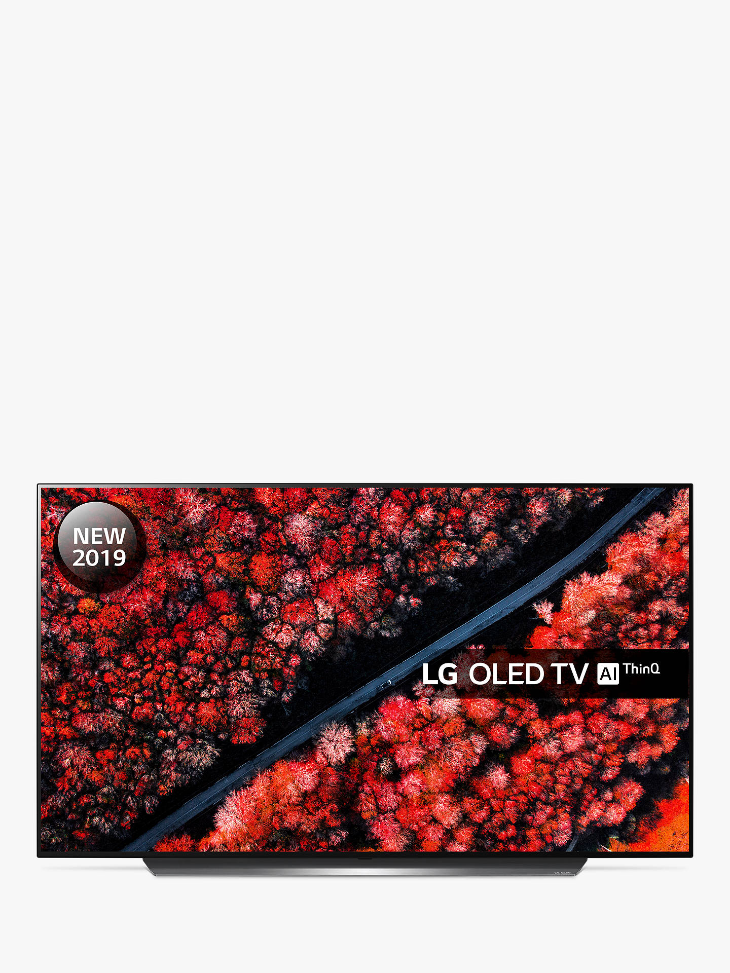 LG OLED55C9PLA (2019) OLED HDR 4K Ultra HD Smart TV, 55