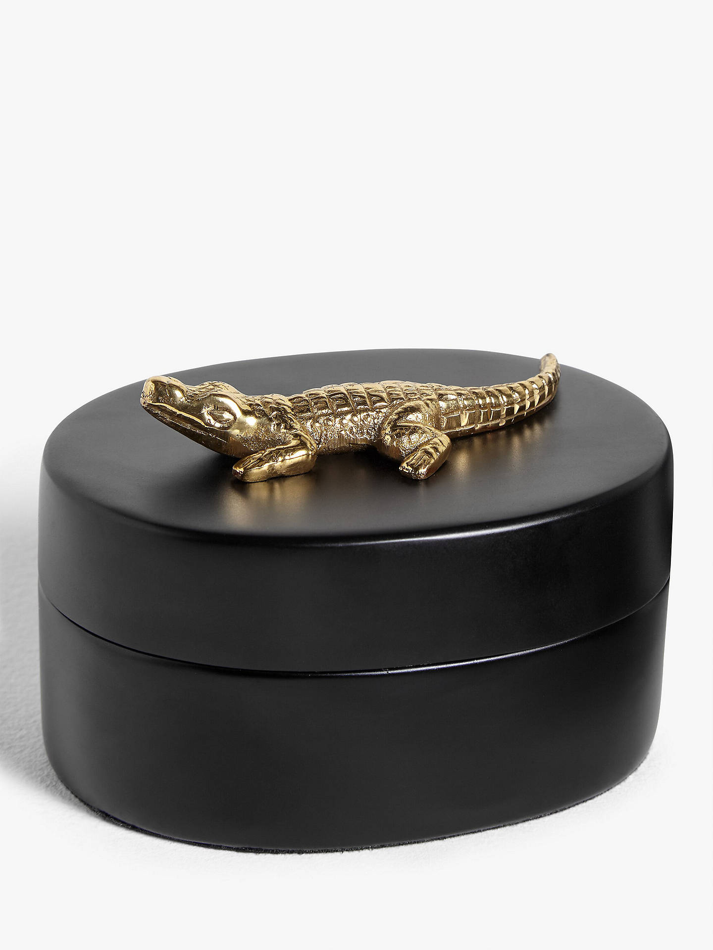 Buy John Lewis & Partners Decorative Alligator Box Online at johnlewis.com