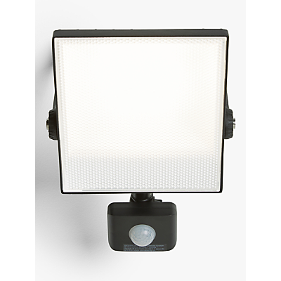 Saxby Scimitar LED Outdoor Floodlight, Black