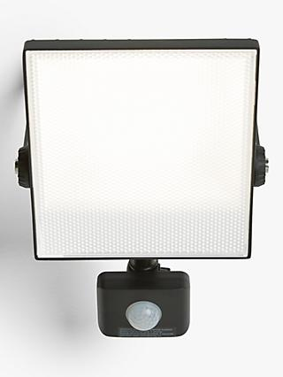 Saxby Scimitar LED Outdoor Floodlight, Black