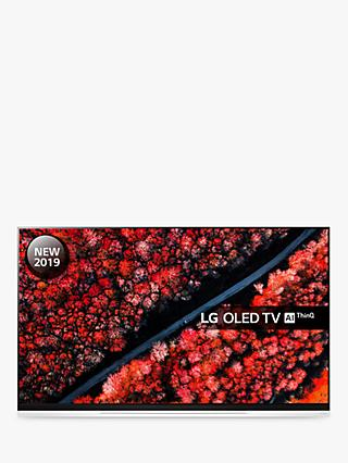 "LG OLED65E9PLA (2019) OLED HDR 4K Ultra HD Smart TV, 65"" with Freeview Play/Freesat HD, Picture-On-Glass Design & Dolby Atmos, Ultra HD Certified, Black"