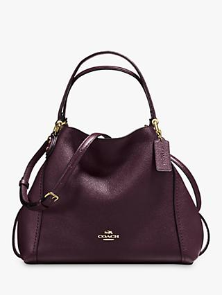 91596646c8216 Coach Edie 28 Leather Shoulder Bag