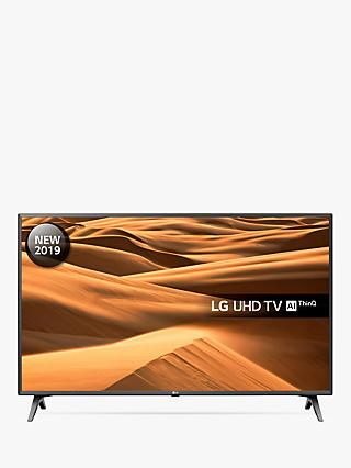 "LG 43UM7500PLA (2019) LED HDR 4K Ultra HD Smart TV, 43"" with Freeview Play/Freesat HD, Ultra HD Certified, Black & Titan"