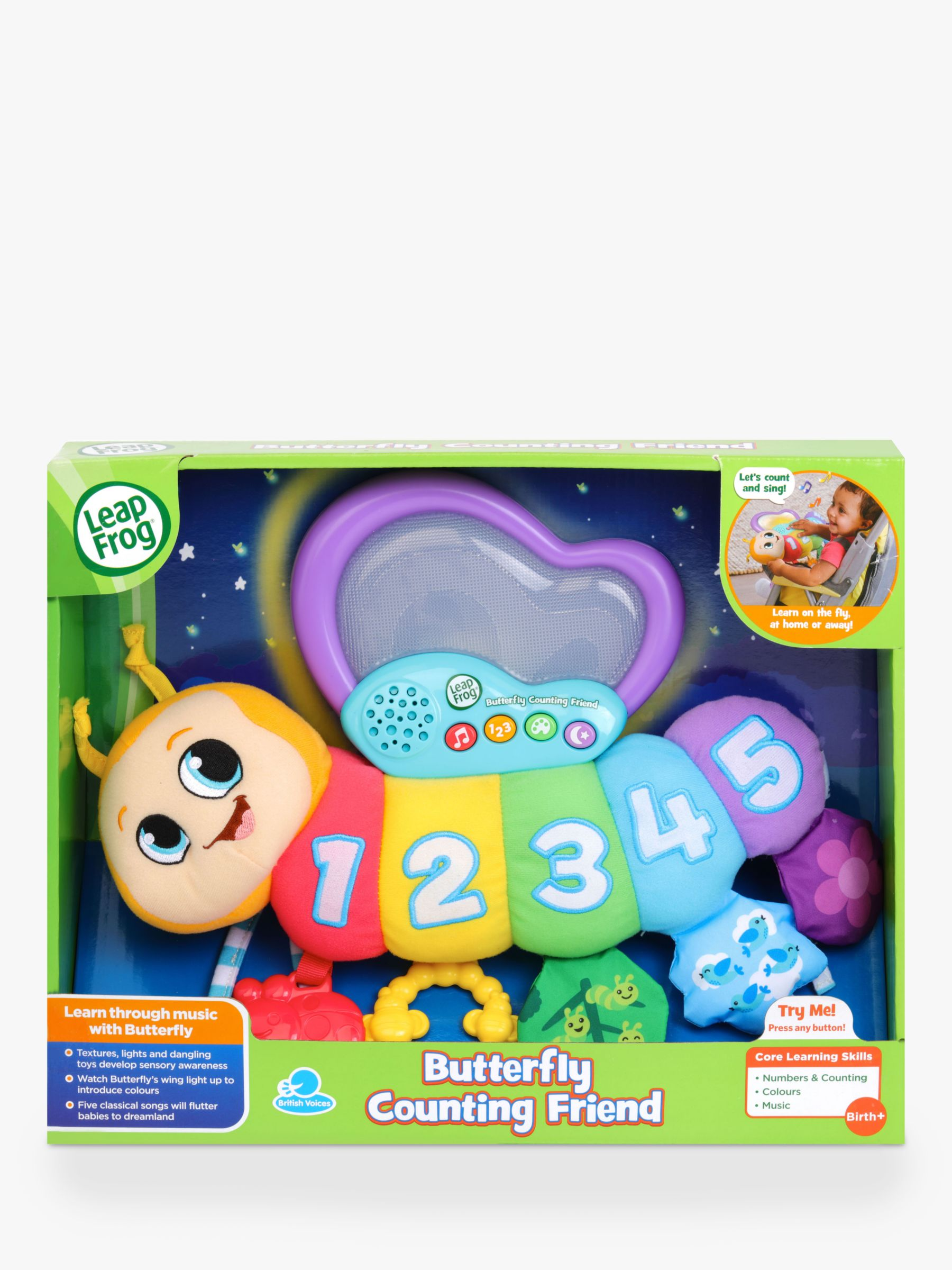LeapFrog LeapFrog Butterfly Counting Friend