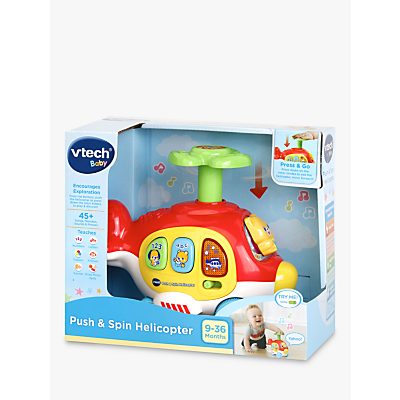 VTech Baby Push and Spin Helicopter