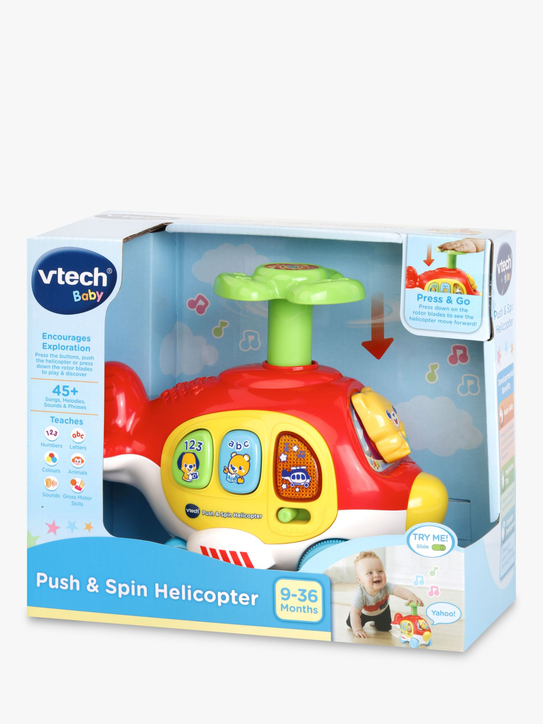 Vtech VTech Baby Push and Spin Helicopter