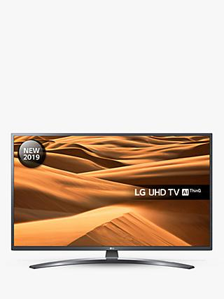 "LG 49UM7400PLB (2019) LED HDR 4K Ultra HD Smart TV, 49"" with Freeview Play/Freesat HD, Ultra HD Certified, Dark Iron Grey"
