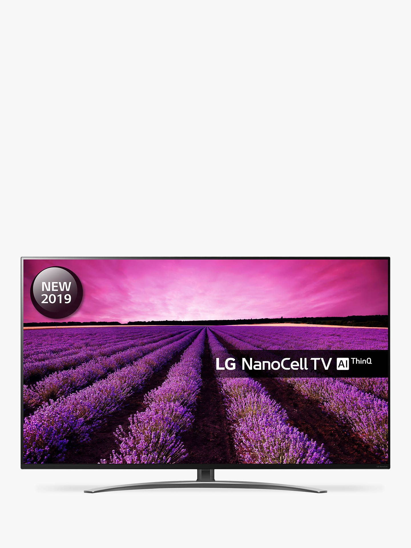 LG 55SM8600PLA (2019) LED HDR NanoCell 4K Ultra HD Smart TV, 55