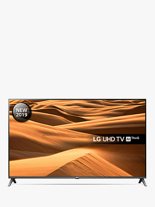 "Buy LG 55UM7510PLA (2019) LED HDR 4K Ultra HD Smart TV, 55"" with Freeview Play/Freesat HD, Ultra HD Certified, Black & Titan Online at johnlewis.com"
