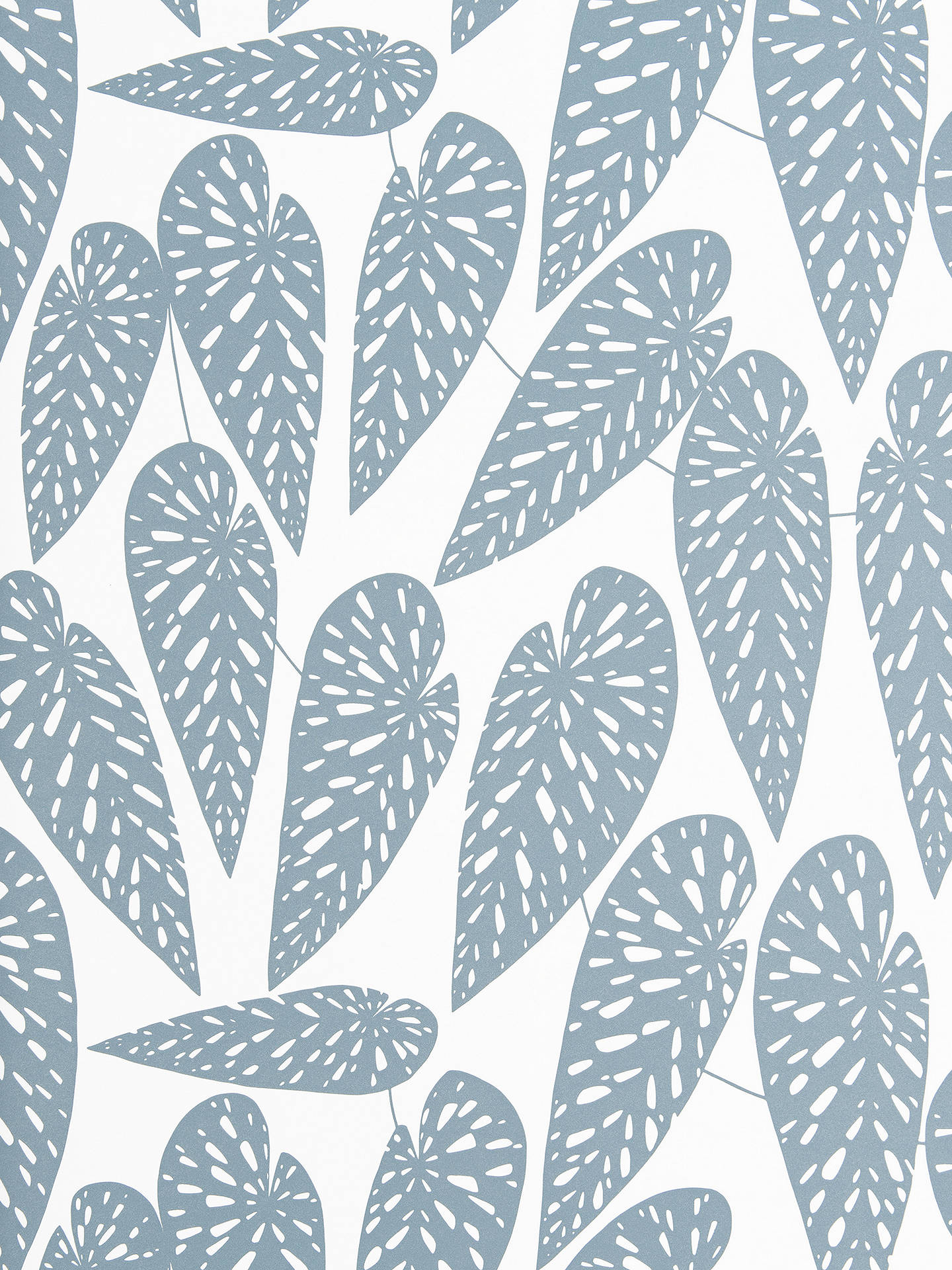 Buy MissPrint Tropics Wallpaper, Boathouse Blue 1289 Online at johnlewis.com