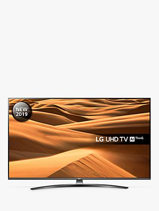 "LG 55UM7660PLA (2019) LED HDR 4K Ultra HD Smart TV, 55"" with Freeview Play/Freesat HD, Ultra HD Certified, Dark Silver"
