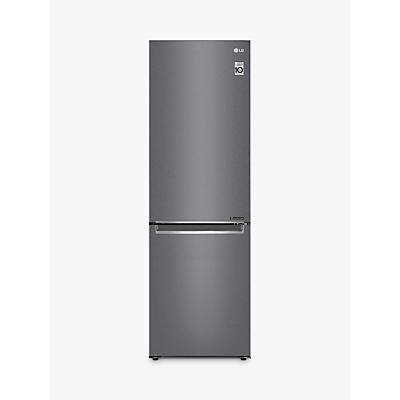LG GBB61DSJZN Freestanding Fridge Freezer, A++ Energy Rating, 60cm Wide, Graphite
