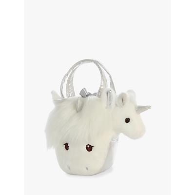 Aurora World Fancy Pal Orchid Uniform Silver Handbag