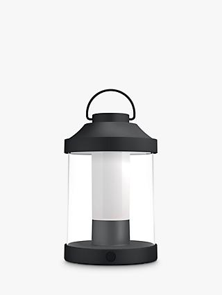 Philips Abelia LED Portable Outdoor Table Lamp, Black
