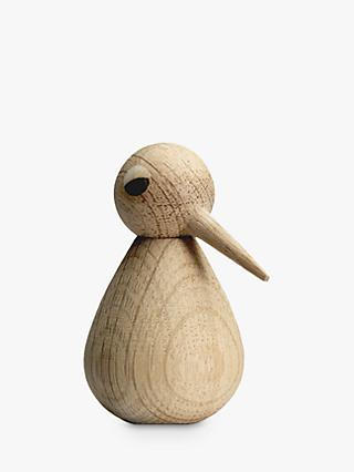 ARCHITECTMADE Kristian Vedel Small Oak Wood Bird Ornament