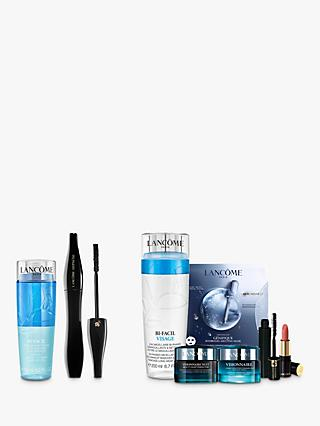 Lancôme Hypnôse Mascara and Bi-Facil Non Oily Instant Cleanser Sensitive Eyes Bundle with Gift