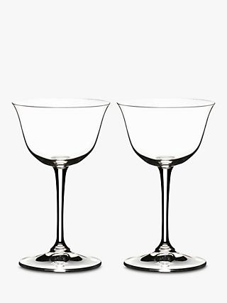 Riedel Bar Crystal Glass Sour Cocktail Glasses, Set of 2, 217ml, Clear