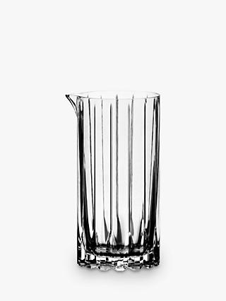 Riedel Bar Crystal Glass Cocktail Mixing Jug, 650ml, Clear